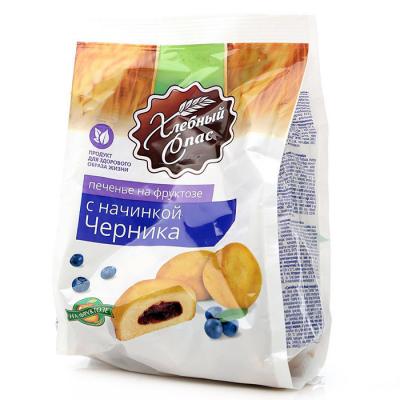 Печенье Хлебный Спас Черника на фруктозе