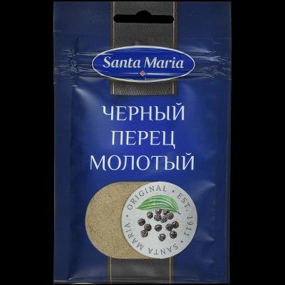 Перец черный молотый Santa Maria