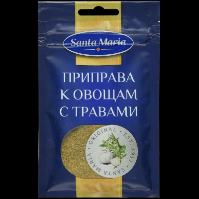 Приправа Santa Maria к овощам с травами