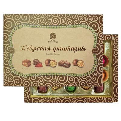 Конфеты Сибирский кедр Кедровая Фантазия в шоколадной глазури