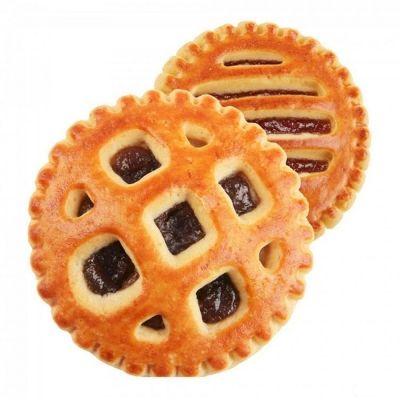 Печенье Барселона с абрикосом и творожным вкусом