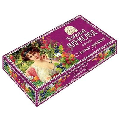 Мармелад Белевский Старые традиции Лесное лукошко картон