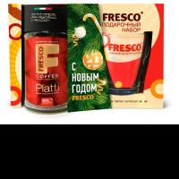 Кофе FRESCO Набор Platti растворимый ст/б с кружкой