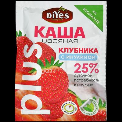 Каша овсяная ДиYes +Клубника с инулином