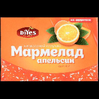 Мармелад ДиYes дольки апельсин на фруктозе