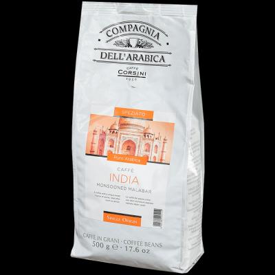 Кофе Compagnia Dell Arabica India Monsooned Malabar зерно в/у