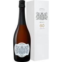 Вино ЕССЕ (Grande Cuvee) игристое выдержанное белое экстра брют, 11,5-13,5 %