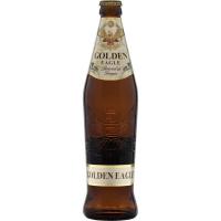 Пиво светлое пастеризованное Голден Игл Golden Eagle, 4.9%