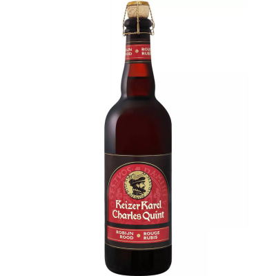 Пиво темное фильтрованное пастеризованное Чарльз Квинт Руж Руби/Кейзер Карел Робейн Род (Charles Quint Rouge Rubis / Keizer Karel Robijn Rood), 8,5 %