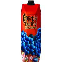 Вино Сербское красное полусладкое (Serbian semisweet red wine Series Uno), 9,1-13 % т/пак