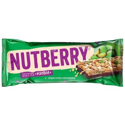 Батончикмюсли Nutberry киви