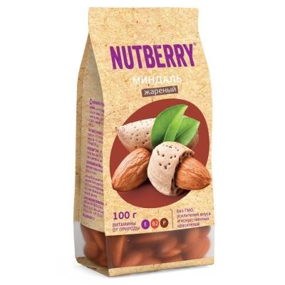 Миндаль Nutberry жареный
