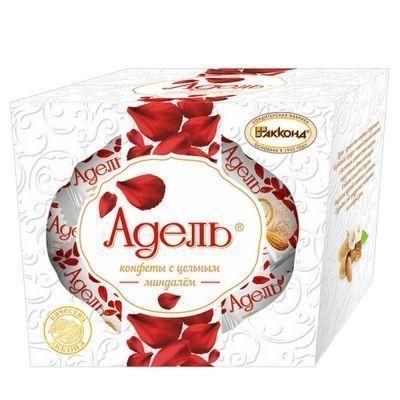 Набор конфет Акконд Адель (ADELL) с цельным миндалём
