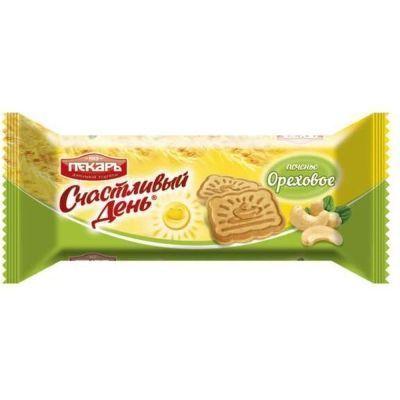 Печенье Счастливый день сахарное ореховое