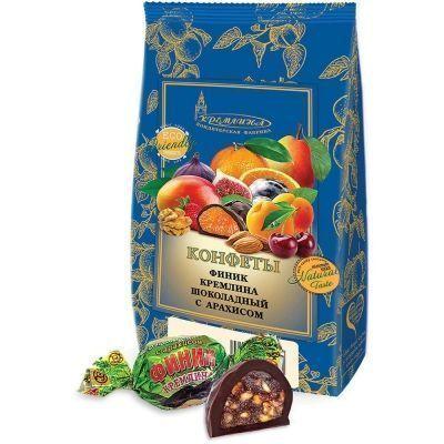Конфеты Финик Кремлина шоколадный с арахисом