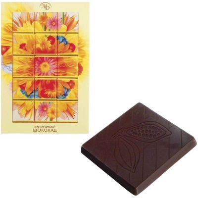 Набор шоколада Монетный двор 'Цветы' молочный