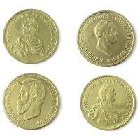 Шоколадные медали Монетный двор Императоры России