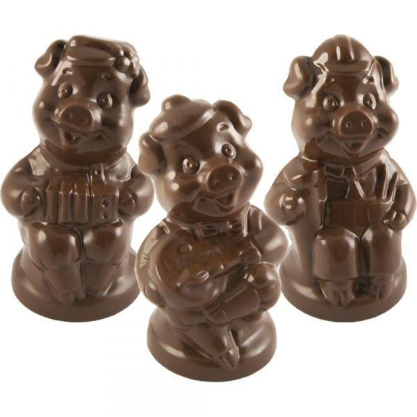 Шоколадные фигурки Монетный двор Весёлые Свинки