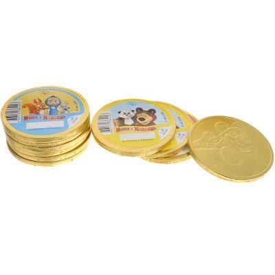 Шоколадные медали Монетный двор Маша и Медведь