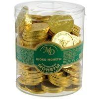 Шоколадные монеты Монетный двор Старинные монеты
