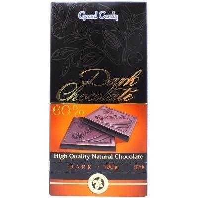 Горький шоколад 60% Гранд Кенди