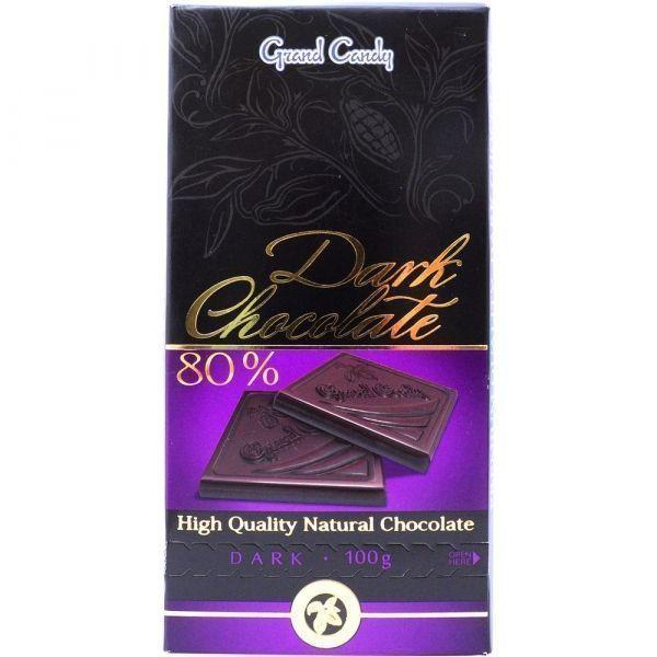 Горький шоколад 80% Гранд Кенди