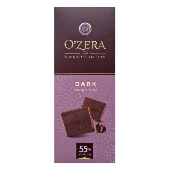 Шоколад O'Zera (Озера) Dark 55%