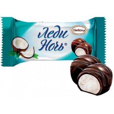 Конфеты Акконд Леди-день с кокосом