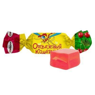 Конфеты Акконд Отважный комарик со вкусом вишни