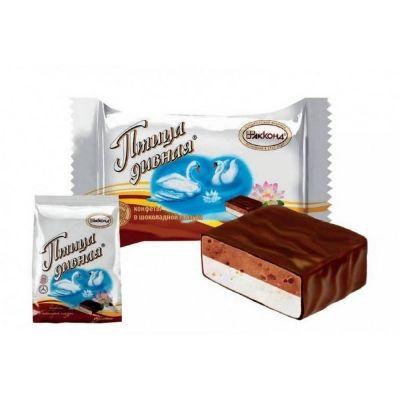 Конфеты Акконд Птица дивная двухслойная шоколад-сливки