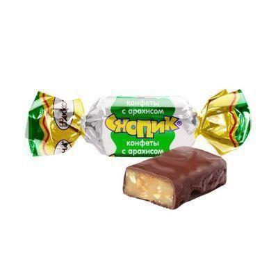 Конфеты Акконд Снопик с арахисом