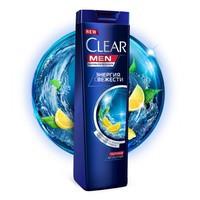 Шампунь мужской  CLEAR против перхоти Энергия свежести