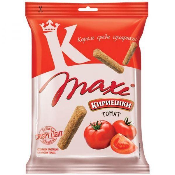 Сухарики Кириешки ржаные Maxi томат
