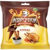 Сухарики Три Корочки ржаные Курица + соус терияки