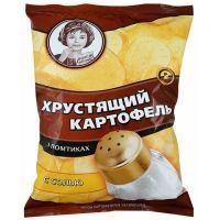 Чипсы Хрустящий картофель в ломтиках Соль