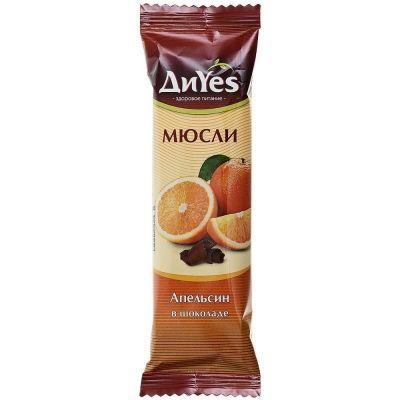 Батончик-мюсли 'ДиYes' Апельсин в шоколаде