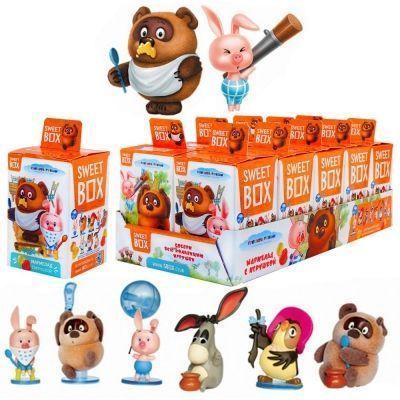 Драже с витамином С СВИТБОКС 'ВИННИ ПУХ' с игрушкой в коробочке