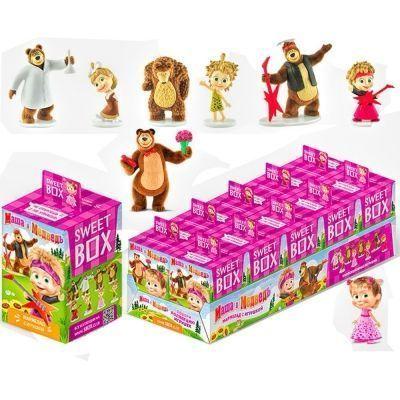 Драже с витамином С СВИТБОКС 'МАША и МЕДВЕДЬ' с игрушкой в коробочке