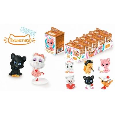 Мармелад Пушистики Котята'Sweet Box' с игрушкой коллекция № 3