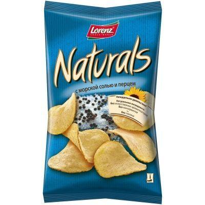 Чипсы картофельные 'Naturals' c морской солью