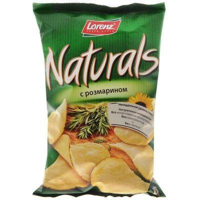 Чипсы картофельные 'Naturals' c розмарином