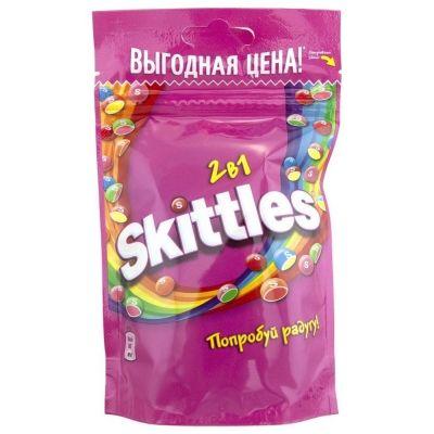 Жевательная конфета Skittles Pouch в глазури 2 в1
