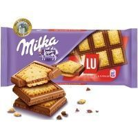 Шоколад молочный Милка LU с печеньем