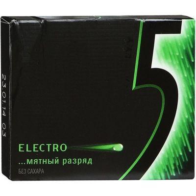 Жевательная резинка 5 Fusion Electro Мятный разряд