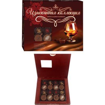 Конфеты шоколадные ассорти ручной работы 'Изысканная коллекция'