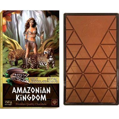 Шоколад 'Амазонки' молочный