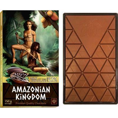 Шоколад 'Амазонки' молочный с натуральным манго