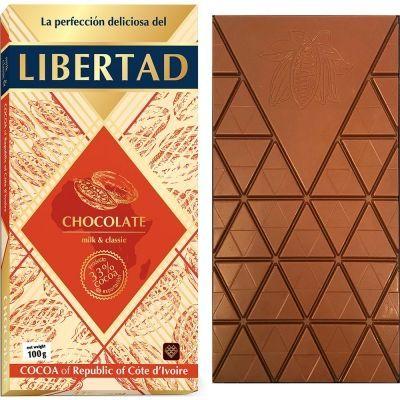 Шоколад 'Либертад' Молочный