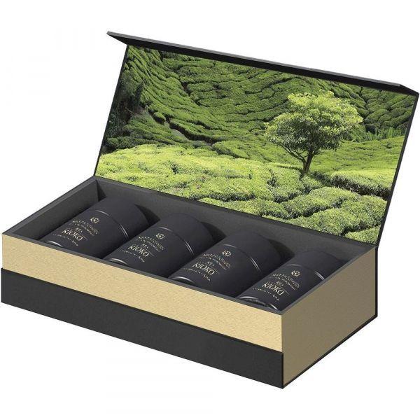 Подарочный набор KIOKO HANA MEGUMI коллекционного чёрного листового чая