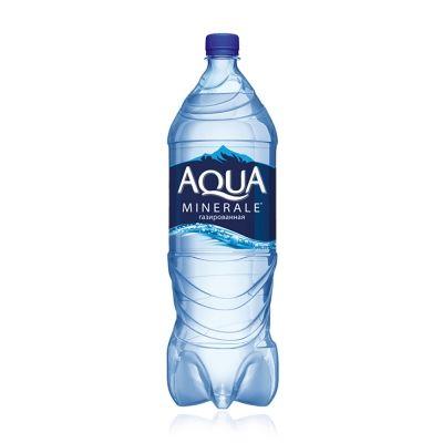 Вода Аква Минерале газированная